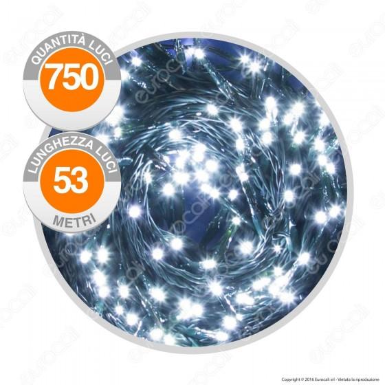 Catena 750 Luci LED Reflex Colore Bianco Freddo IP44 con Controller Memory