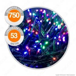 Catena 750 Luci LED Reflex Multicolore con Controller Memory - per Interno e Esterno
