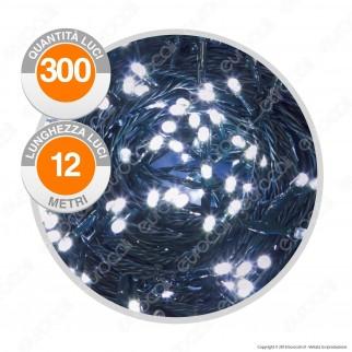 Catena 300 Luci LED Reflex Colore Bianco Freddo IP44 con Controller