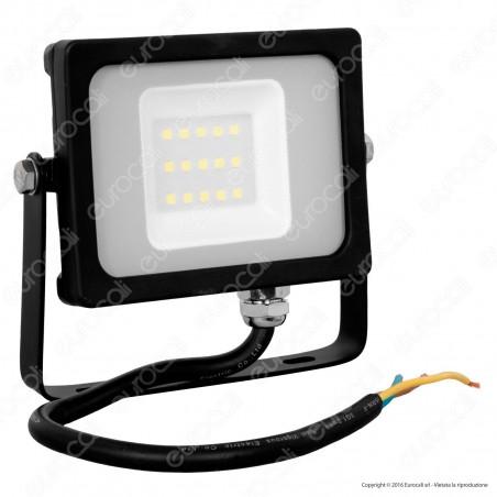 V-Tac VT-4911 Faretto LED SMD 10W Ultra Sottile da Esterno Colore Nero - SKU 5777 / 5778 / 5779 [TERMINATO]