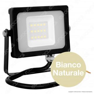 V-Tac VT-4911 Faretto LED SMD 10W Ultra Sottile da Esterno Colore Nero - SKU 5777 / 5778 / 5779