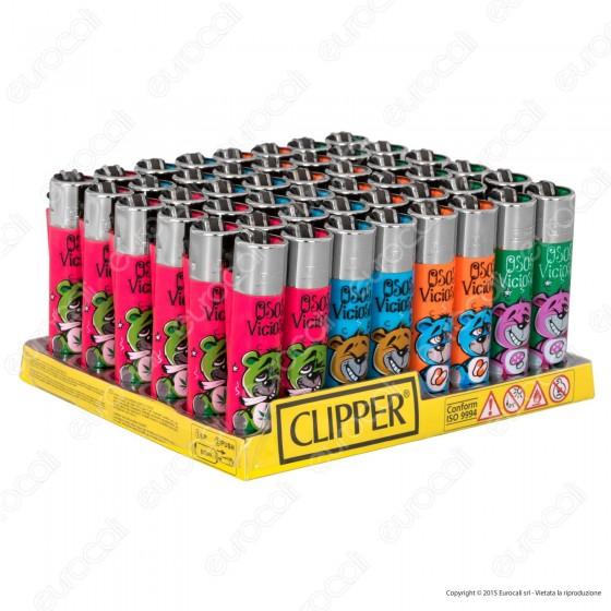 Clipper Large Fantasia Osos Viciosos - Box da 48 Accendini