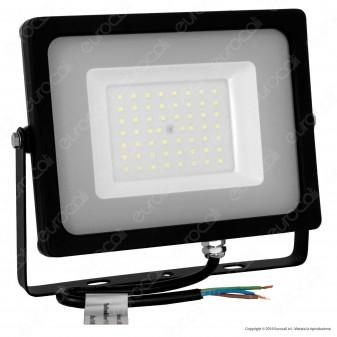V-Tac VT-4955 Faretto LED SMD 50W Ultra Sottile da Esterno Colore Nero - SKU 5831 / 5832 / 5833