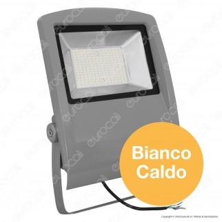 V-Tac VT-47104 Faretto LED FloodLight SMD 100W da Esterno Colore Grigio - SKU 5667 / 5668 / 5669