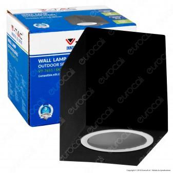 V-Tac VT-7651 Portalampada Wall Light da Muro per Lampadine GU10 - SKU 7510