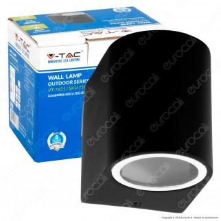 V-Tac VT-7651 Portalampada Wall Light da Muro per Lampadine GU10 - SKU 7508