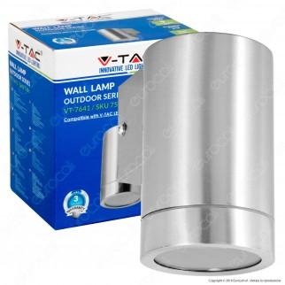 V-Tac VT-7641 Portalampada Wall Light da Muro per Lampadine GU10 - SKU 7506