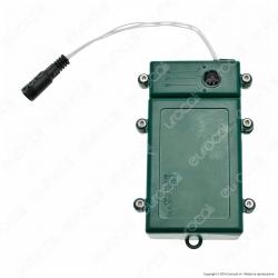 Porta Batterie PLB con Controller Memory e Timer - per Interno e Esterno