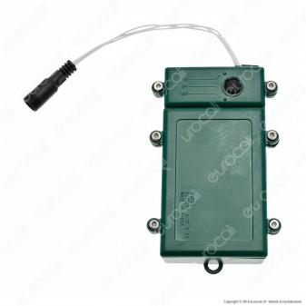 Porta Batterie PLB 3xD con Controller Memory e Timer - per Interno e Esterno