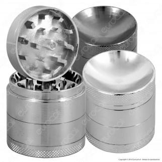 Grinder Mini Tritatabacco 4 Parti in Metallo