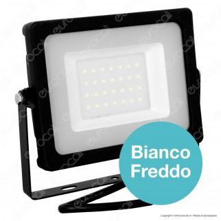 V-Tac VT-4933 Faretto LED SMD 30W Ultra Sottile da Esterno Colore Nero - SKU 5813 / 5814 / 5815