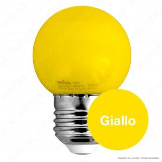 Wiva Lampadina LED E27 0,5W MiniGlobo G45 Colorata