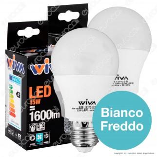 Wiva Kit LED Combo Bipack - 2 Lampadine E27 da 12W e 15W