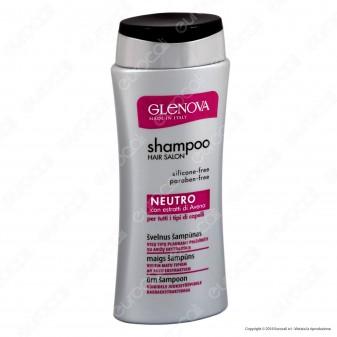 Glenova Shampoo Neutro con Estratti di Avena - Flacone da 250ml