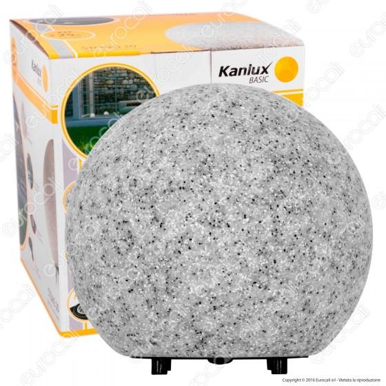 Kanlux STONO 20 Portalampada con Picchetti Fissaggio a Terra per Lampadine E27