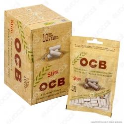 PROV-C00172007 - Ocb Slim 6mm Biodegradabili - Box 10 Bustine da 120 Filtri