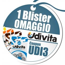 UDI3 - 1 Blister di Batterie Acustiche Udivita Omaggio
