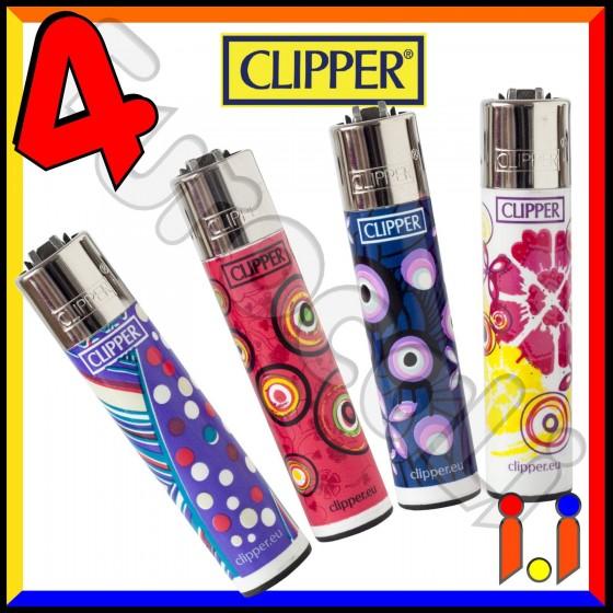 Clipper Large Fantasia Style - 4 Accendini