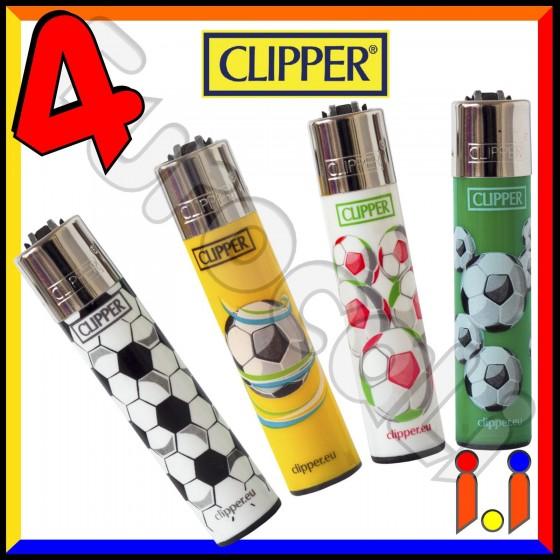 Clipper Large Fantasia Sport Palloni - 4 Accendini C16