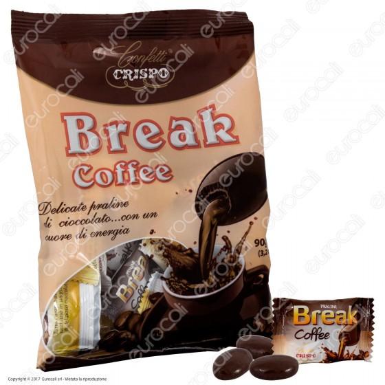 Confetti Crispo Praline di Cioccolato con Cuore di Caffè - Busta 90g