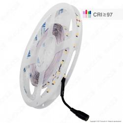 Wiva Striscia LED 2835 Monocolore 60 LED/metro CRI 97 - Bobina da 5 metri - mod. 41700028 / 41700020 / 41700021