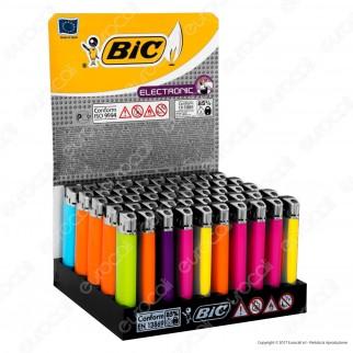 Bic Maxi J38 Elettronico Grande - Box da 50 Accendini