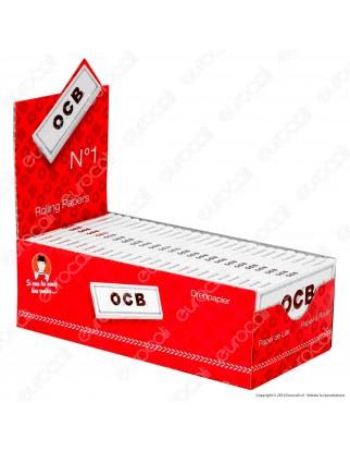Cartine Ocb Bianche Corte - Scatola da 50 Libretti