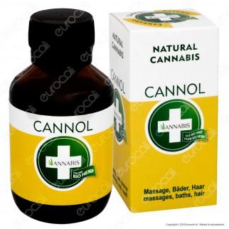 Annabis Cannol Olio di Canapa per Massaggi - Flacone da 100ml ⭐️PROMO 3X2⭐️