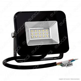V-Tac VT-4611 Faretto LED SMD 10W Ultra Sottile da Esterno Colore Nero - SKU 5877
