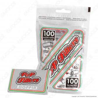 Pop Filters Slim 6mm Lisci - Bustina da 100 Filtri
