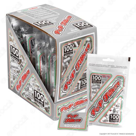 Pop Filters Slim 6mm Lisci - Box 10 Bustine da 100 Filtri