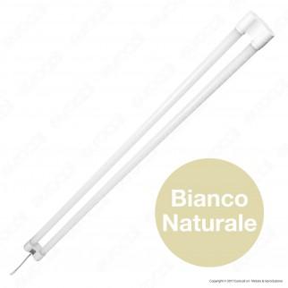 V-Tac VT-12077 Tubo LED Doppio Nano Plastic Plafoniera 36W Lampadina 120cm - SKU 6315