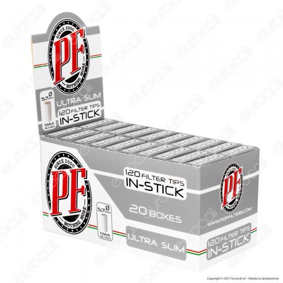 Pop Filters UltraSlim 5,7mm Ruvidi - Box 20 Scatoline da 120 Filtri