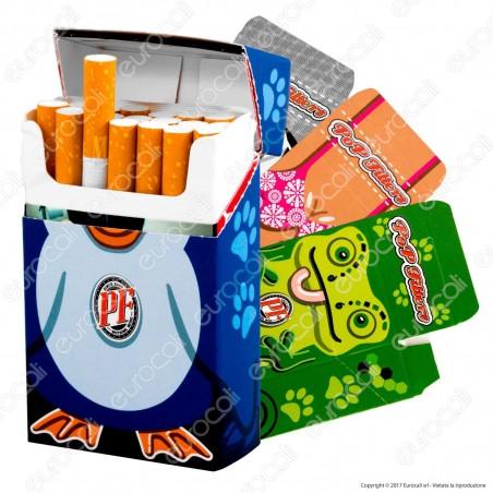 Pop Filters 12 Porta Pacchetto in Cartoncino per Pacchetti Classici da 20 Sigarette