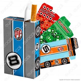 Pop Filters 12 Porta Pacchetto in Cartoncino per Pacchetti Morbidi da 20 Sigarette
