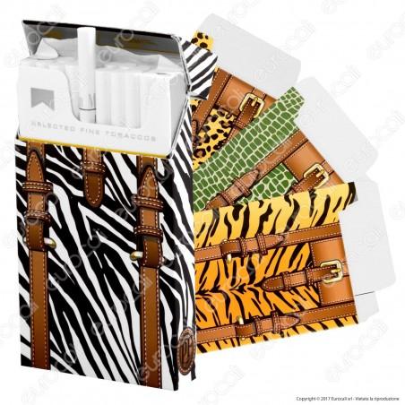 Pop Filters 12 Porta Pacchetto in Cartoncino per Pacchetti Slim da 20 Sigarette