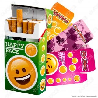 Pop Filters 12 Porta Pacchetto in Cartoncino per Pacchetti da 20 Sigarette 100's