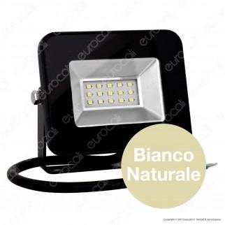 V-Tac VT-4611 I-Series Faretto LED SMD 10W Ultra Sottile da Esterno Colore Nero - SKU 5875 / 5876 / 5877