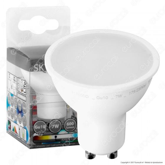 SkyLighting Lampadina LED GU10 7W Faretto Spotlight