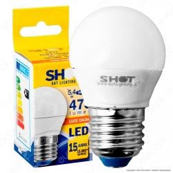 Bot Lighting Shot Lampadina LED E27 5,4W MiniGlobo G45 - mod. ELD3106X2 / ELD3106X3 / ELD3106X1