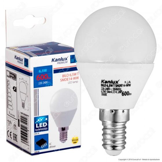 Kanlux BILO Lampadina LED E14 6,5W MiniGlobo P45