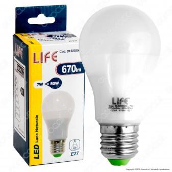Life Serie GF Lampadina LED E27 7W Bulb A55