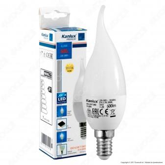 Kanlux IDO Lampadina LED E14 6,5W Candela Fiamma