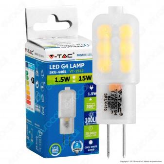 V-Tac VT-1942 Lampadina LED G4 1,5W Bulb - SKU 4465