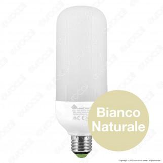 Marino Cristal Serie PRO Lampadina LED E27 20W Tubolar T65