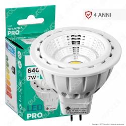 Marino Cristal Serie PRO Lampadina LED GU5.3 (MR16) 7W Faretto Spotlight - mod. 21131 / 21189