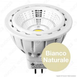 Marino Cristal Serie PRO Lampadina LED GU5.3 (MR16) 7W Faretto Spotlight