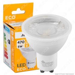 Marino Cristal Serie ECO Lampadina LED GU10 5W Faretto Spotlight 38°
