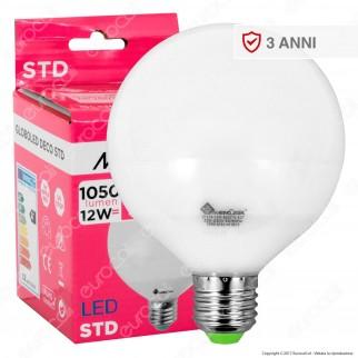 Marino Cristal Serie STD Lampadina LED E27 12W Globo G95 - mod. 21135 / 21136 / 21214