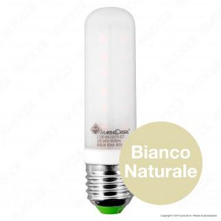 Marino Cristal Serie PRO Lampadina LED E27 8W Tubolar T28